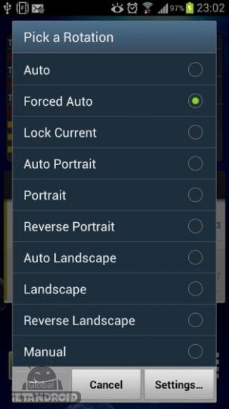 دانلود Ultimate Rotation Control PRO 6.3.5 برنامه کنترل چرخش صفحه اندروید