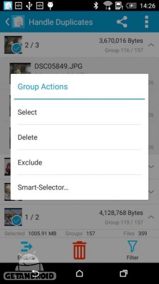 دانلود Search Duplicate File 4.68 برنامه حذف فایل های تکراری در اندروید