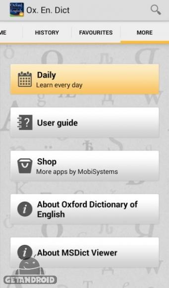 دانلود Oxford Dictionary of English Premium  7.1.195 دیکشنری آکسفورد انگلیسی اندروید