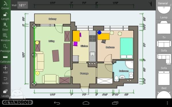 دانلود Floor Plan Creator 2.8 برنامه طراحی نقشه خانه برای اندروید... دانلود Floor Plan Creator 2.8 برنامه طراحی نقشه خانه برای اندروید ...