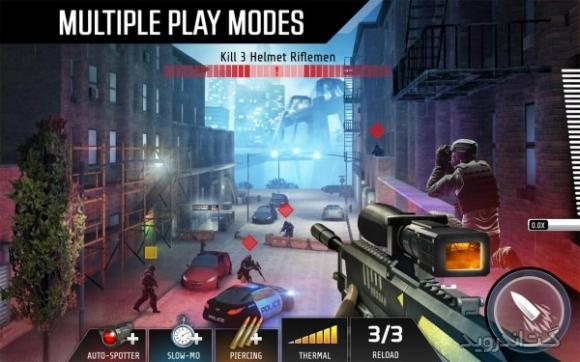 دانلود Kill Shot Bravo 4.4.1 بازی تک تیراندازی آنلاین اندروید