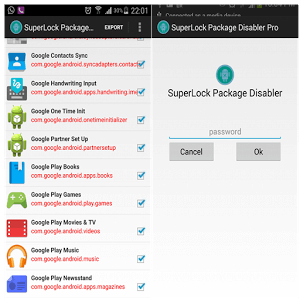 Package Disabler Pro (Samsung) icon
