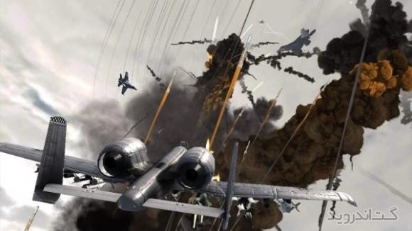 دانلود Call Of ModernWar Warfare Duty 1.1.7 بازی هواپیمای جنگی برای اندروید