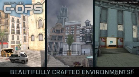 دانلود Critical Ops 0.9.5.f309 بازی تیراندازی با تفنگ برای اندروید