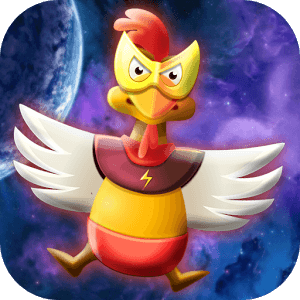 Chicken Shot - Space Warrior