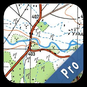 دانلود Soviet Military Maps Pro 4.5.1 برنامه نقشه های نظامی آفلاین و آفرود اندروید