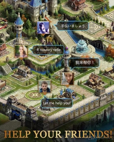 دانلود کلش آف کویینز Clash of Queens 1.8.38 بازی نبرد ملکه ها اندروید