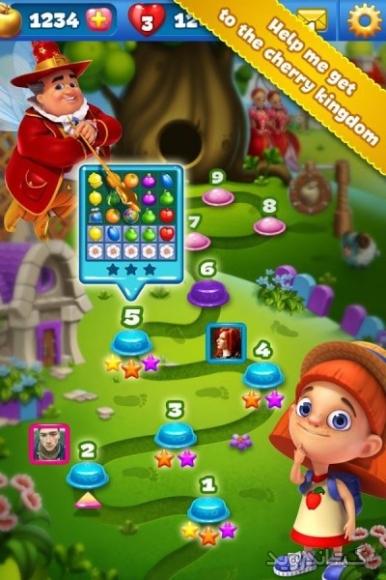 دانلود فروت لند Fruit Land 1.136.0  بازی سرزمین میوه اندروید
