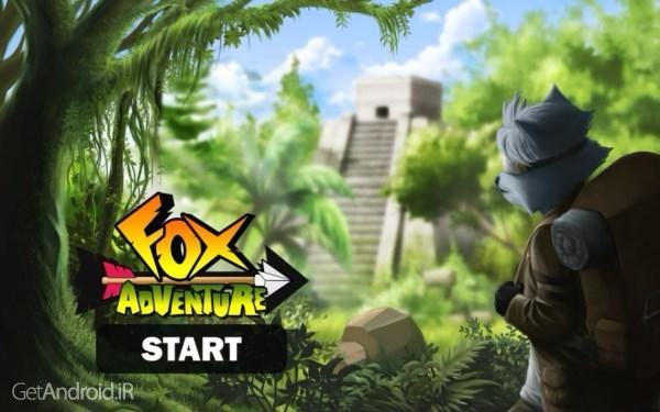 دانلود Fox Adventure 1.3.3 بازی ماجراجویی روباه اندروید