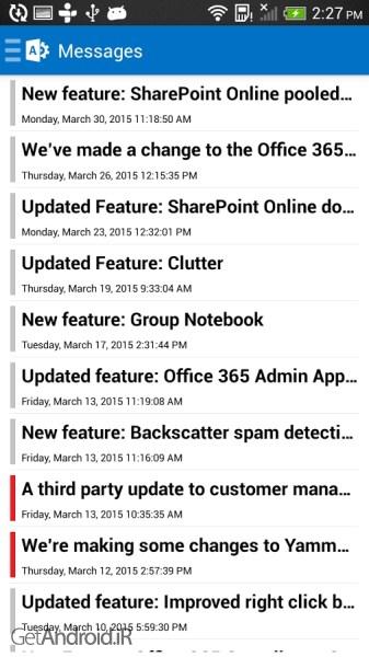 تصویر از دانلود Office 365 Admin 3.94.2.0 برنامه آفیس 365 ادمین اندروید