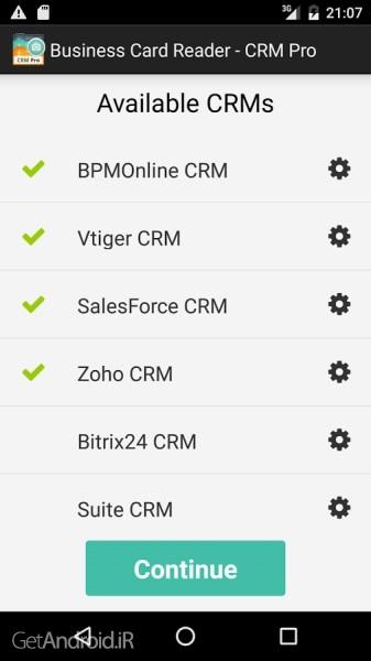 تصویر از دانلود Business Card Reader – CRM Pro 1.1.161 نرم افزار اسکن کارت ویزیت اندروید