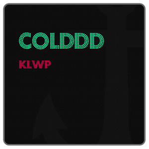 Colddd for KLWP icon