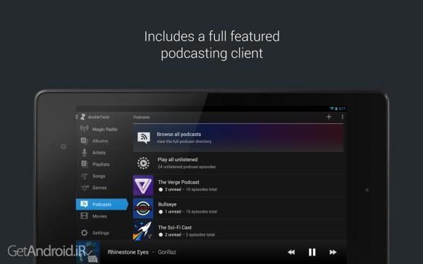 دانلود doubleTwist Music Player, Sync Pro 3.4.5 برنامه پخش کننده موزیک برای اندروید