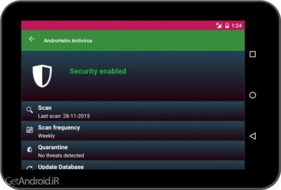 دانلود AntiVirus Android Pro v2.6.3 برنامه آنتی ویروس قوی برای گوشی و تبلت اندروید
