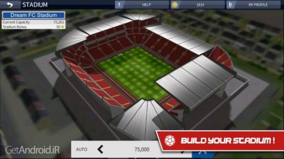 دانلود Dream League Soccer 2016 3.06 بازی ورزشی لیگ فوتبال رویایی 2016 اندروید