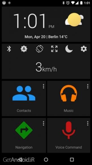دانلود Car dashdroid-Car infotainment Premium 2.8.24 نرم افزار کنترل خودرو اندروید