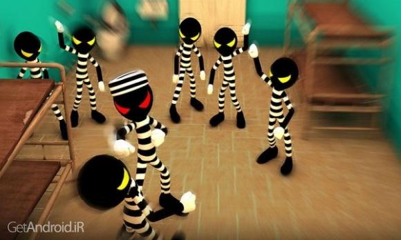 دانلود Stickman Escape Story 3D 2.1 بازی داستان فرار استیکمن اندروید