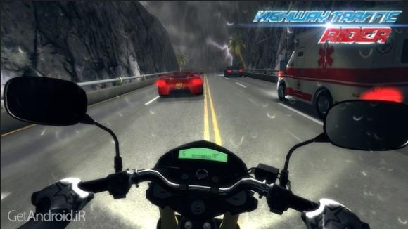 دانلود Highway Traffic Rider 1.6 بازی موتور سواری در بزرگراه پرترافیک اندروید