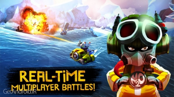 دانلود Battle Bay 2.5.16364 بازی اکشن نبرد در خلیج اندروید