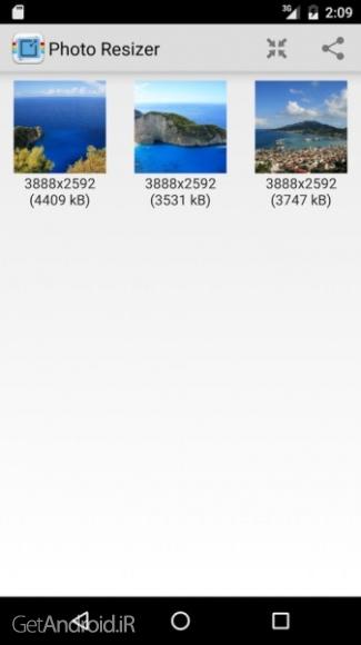 دانلود Photo & Picture Resizer Premium 1.0.110 برنامه کاهش حجم عکس اندروید