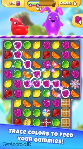 دانلود Yummy Gummy 2.80.0 بازی پاستیل خوشمزه اندروید