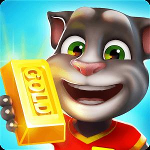 دانلود تالکینگ تام گولد ران Talking Tom Gold Run 1.4.1.674 بازی دوندگی اندروید