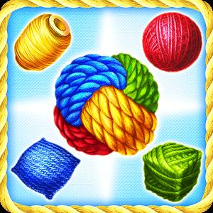 دانلود Rolling Yarn 0.1.125 بازی پازلی نخ نورد اندروید