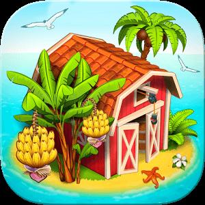 دانلود Farm Paradise Hay Island Bay 1.59 بازی مزرعه داری جزیره بهشتی اندروید