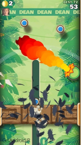 دانلود Sling Kong 2.1.0 بازی آرکید اسلینگ کونگ اندروید