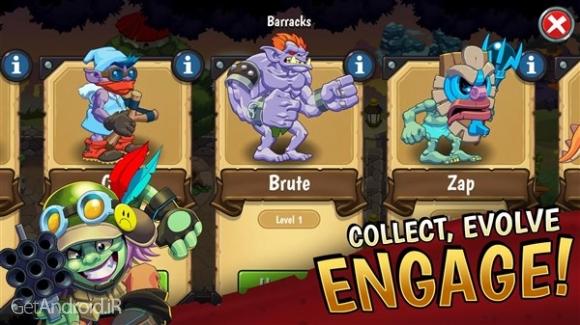دانلود Trolls vs Vikings 2 v0.16.3 بازی ترول ها در مقابل وایکینگ ها 2 اندروید