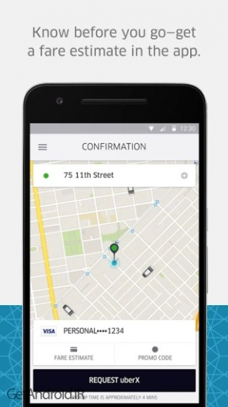 دانلود Uber v3.136.5 برنامه جی پی اس شهری اندروید