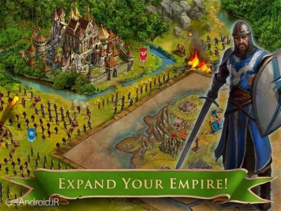 دانلود 6.7.19 Seasons of War بازی استراتژیکی فصل جنگ اندروید