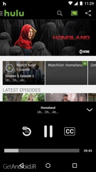 دانلود Hulu 3.18.0.250388    برنامه مشاهده فیلم و سریال اندروید