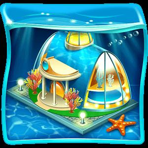 دانلود Aquapolis. Free city building 1.36.10 بازی شهرسازی زیر آب اندروید