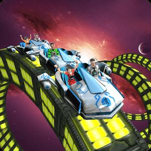 دانلود Roller Coaster Simulator Space 4.3 بازی ترن هوایی ترسناک اندروید