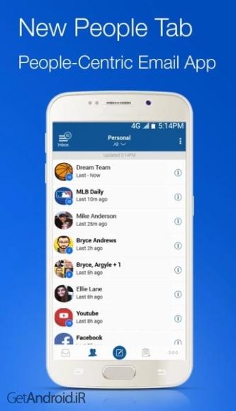 دانلود بلومیل Blue Mail - Email Mailbox v1.9.4.60 برنامه ایمیل برای اندروید