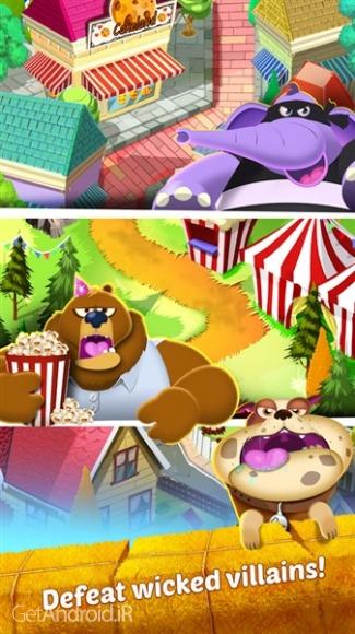 دانلود Cookie Cats 1.21.2 بازی پازلی شیرینی گربه ها اندروید