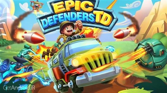 دانلود Epic Defenders TD 1.9.3035 بازی برج دفاعی اندروید