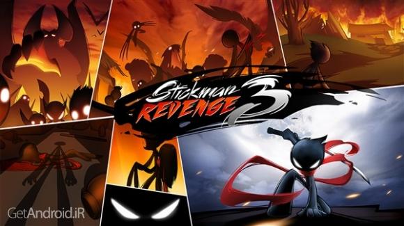 دانلود Stickman Revenge 3 v1.0.22 بازی انتقام استیکمن 3 اندروید
