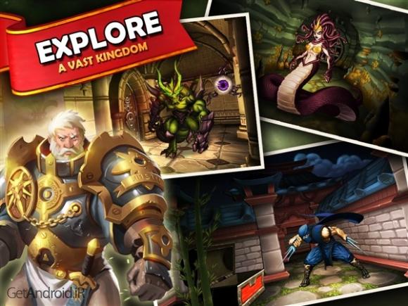 دانلود Dungeon Monsters - RPG 2.4.178 بازی سیاه چال هیولاها اندروید