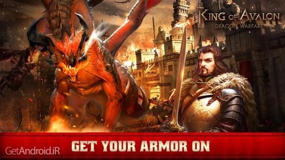 دانلود King of Avalon: Dragon Warfare 3.4.2 بازی جنگ اژدها اندروید