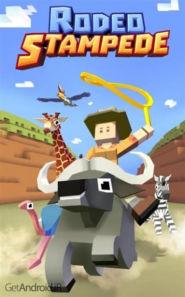دانلود Rodeo Stampede: Sky Zoo Safari 1.4.1 بازی مدیریت باغ وحش اندروید