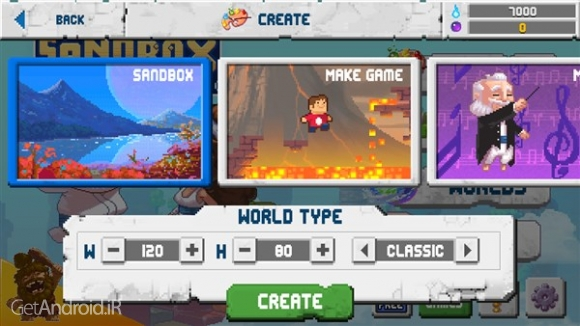 دانلود The Sandbox Evolution 1.1.7 بازی شبیه سازی ساخت جهان اندروید