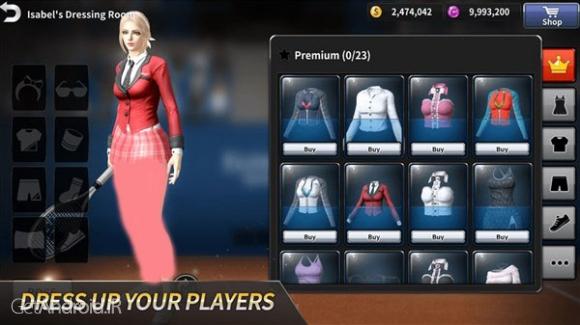 دانلود Ultimate Tennis 2.5.2144 بهترین بازی تنیس اندروید