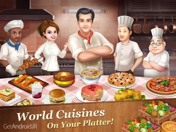 دانلود Star Chef 2.16.2 بازی آشپزی و مدیریت رستوران اندروید