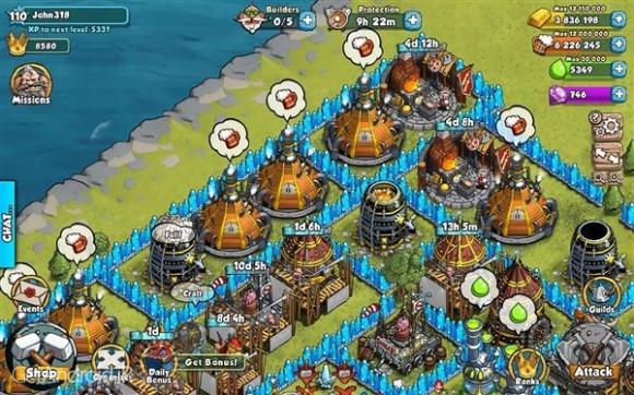 دانلود Vikings Gone Wild 4.3.1 بازی وایکینگ های وحشی اندروید