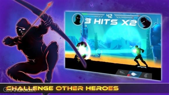 دانلود Shadow Battle 1.6.6 بازی نبرد سایه ها اندروید