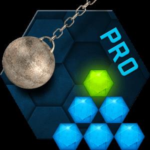دانلود Hexasmash Pro 1.04 بازی شکستن شش ضلعی ها اندروید