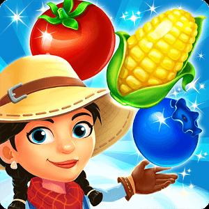 دانلود Harvest Mania - Match-3 Puzzle 2.7.0 بازی پازلی محصولات اندروید