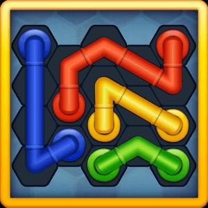 دانلود Pipe Lines : Hexa 2.4.3 بازی خطوط لوله اندروید